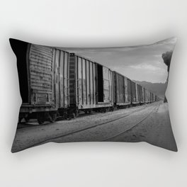 Nuke Train Rectangular Pillow