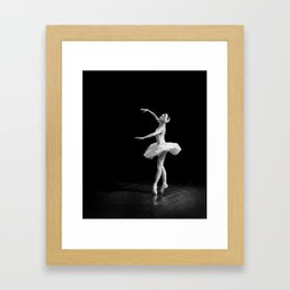 Russian Ballet Dancer 1 Framed Art Print