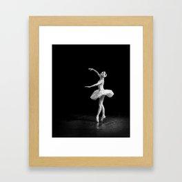 Russian Ballet Dancer 1 Framed Art Print