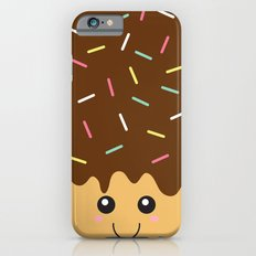 Happy Donut with Chocolate icing and Sprinkles Slim Case iPhone 6s