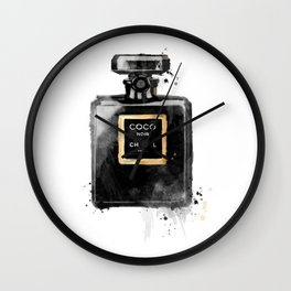 Perfume bottle fashion Wall Clock