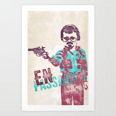 En Passant Poster Art Print
