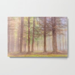 Scottish forest watercolor painting #5 Metal Print
