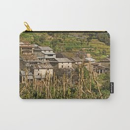 HIMALAYAN FOOTHILLS VILLAGE NEAR BHOTECHAUR NEPAL Carry-All Pouch