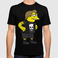 Nelson Muntz Mens Fitted Tee X-LARGE Black