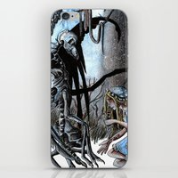 nightmare iPhone & iPod Skins featuring Nightmare by Ju.jo.weh