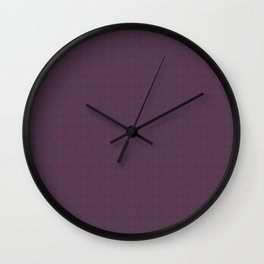 Organic Purple Wall Clock