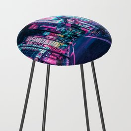 A Neon Wonderland called Tokyo Counter Stool