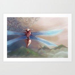 Skara Art Print
