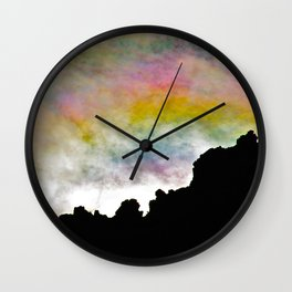 Smiling Sunrise Wall Clock