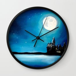 School of Witchcraft and Wizardry... Wall Clock