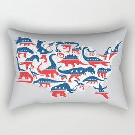 Battleground Rectangular Pillow