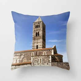 OLD CHURCH of SARDINIA Throw Pillow