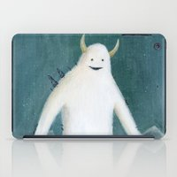 yeti iPad Cases featuring Yeti by Monster Tea Party