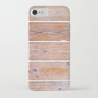 wooden iPhone & iPod Cases featuring Wooden Boards by Patterns and Textures