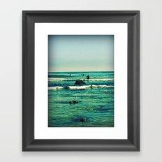 In the Surf Framed Art Print