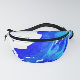 Save The Water Watercolour Fanny Pack