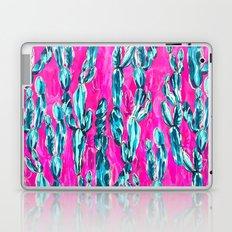 Hot Pink Cacti Laptop & iPad Skin