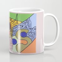 wild things Mugs featuring Wild things by tmens