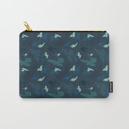 Bird Camouflage at Midnight Carry-All Pouch