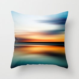 Abstract Landscape 15 Throw Pillow