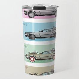 Time Machine - Back to the Future Travel Mug