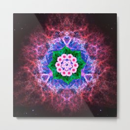 Speck at the Center Metal Print