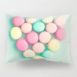 Macarons, macaroons heart II, pop art Pillow Sham