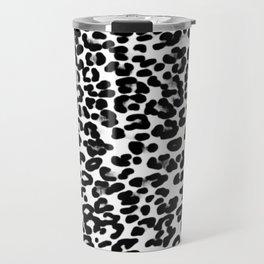 Medium Leopard Skin Print Travel Mug