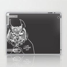 owl or not Laptop & iPad Skin
