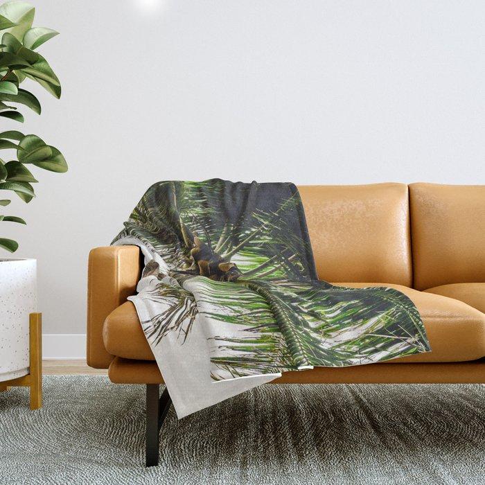 Coconut Bounty Throw Blanket