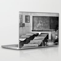 old school Laptop & iPad Skins featuring Old School by SilverSatellite