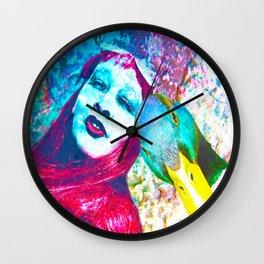 Me & my Friend Lucky Duck Wall Clock