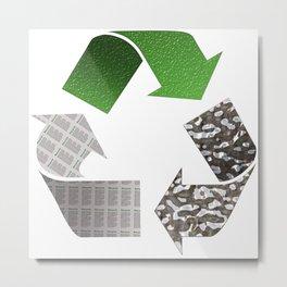 Recycle Metal Print