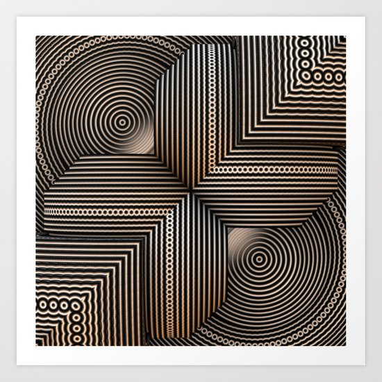 Textures and Patterns II Art Print