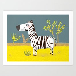 Thank you for everything Art Print