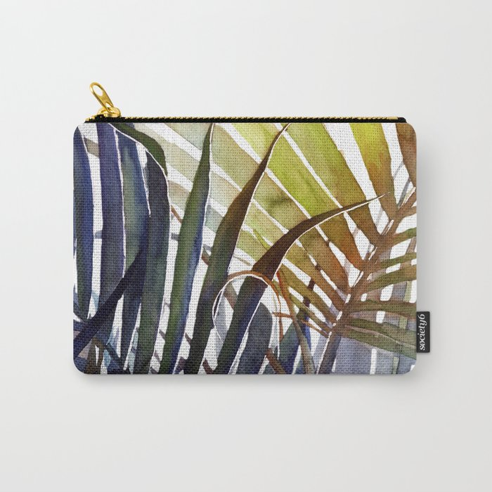 Arecaceae - household jungle #3 Carry-All Pouch
