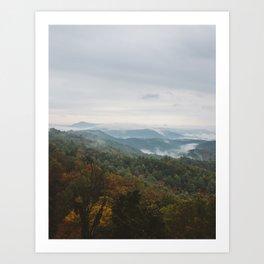 Rolling Fog Art Print
