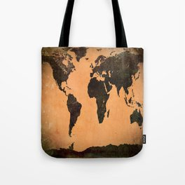 Abstract Earth Science Map Tote Bag