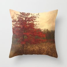 Red Oak Throw Pillow