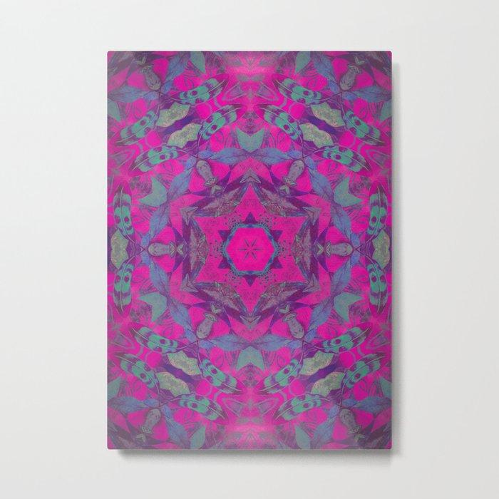 magic mandala 51 #mandala #magic #decor Metal Print