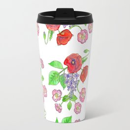 Wild with Wildflowers Travel Mug