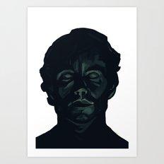 -E- Art Print