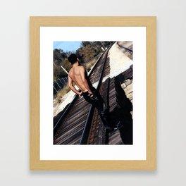 """Fernando """"Hustler Tracks"""" Framed Art Print"""