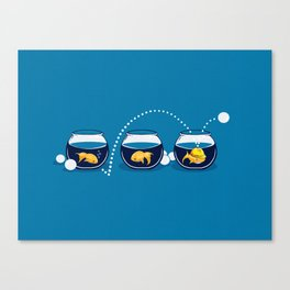 Prepared Fish Canvas Print