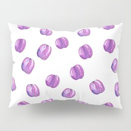 Pattern design with plums Pillow Sham