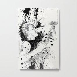 Brian Setzer - Stray Cats Metal Print