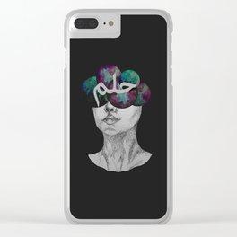 Vivid Dreams Clear iPhone Case