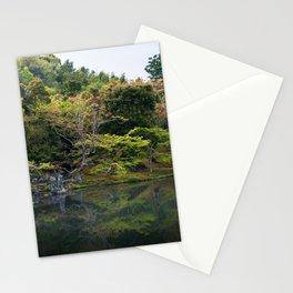 Beautiful garden at Tenryu-ji temple, Kyoto, Japan Stationery Cards