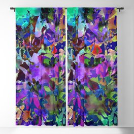 Poppy Batik Blackout Curtain